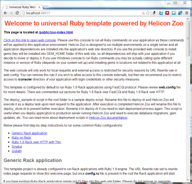 Ruby on Rails on Windows in production | Helicon Tech Blog