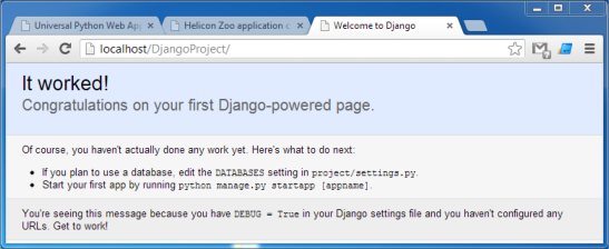 django how to add package to project
