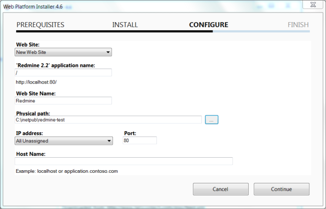 Installing Redmine on Windows in production | Helicon Tech Blog